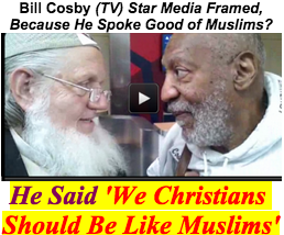 Bill Cosby and Yusuf Estes eye to eye