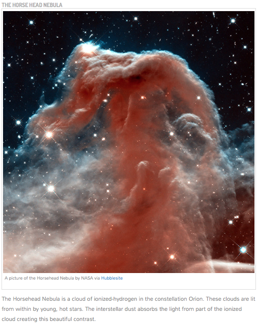 NASA Horse Head Nebula