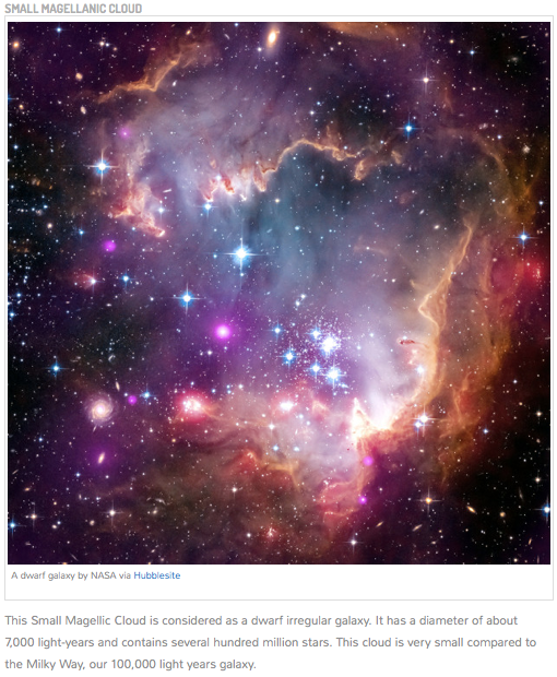 NASA Small Magellanic Cloud