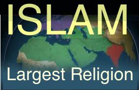 Islam largest