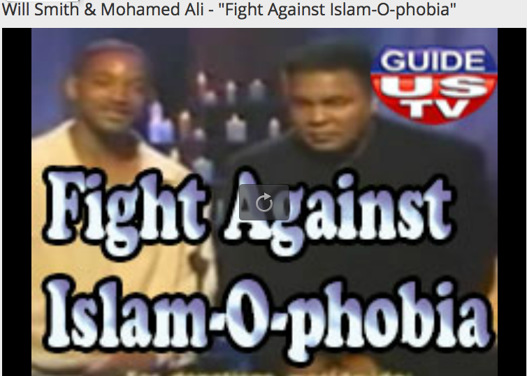 IslamOphobia Will Smith Champ Muhammad Ali 2