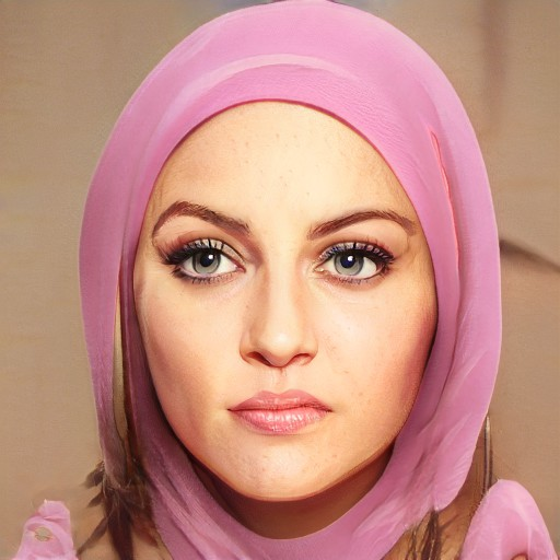 Muslim woman pinkish 2