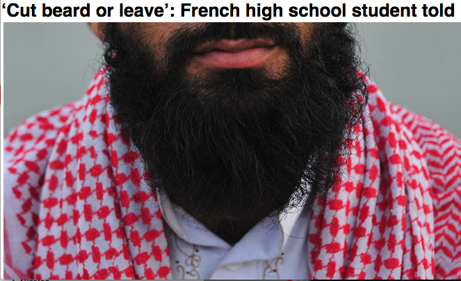 Beard or school