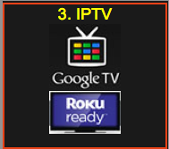 donate IPTV Google Roku