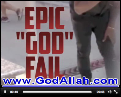 Twerking God Fail