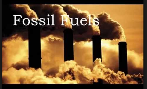 Fossil fuels smoke