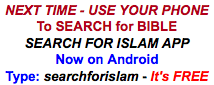 search for Islam APP