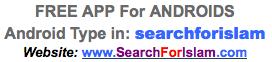 SearchforIslam free app link