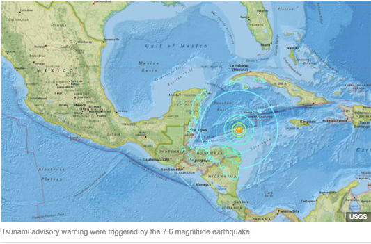 Earthquake Caribbean 01