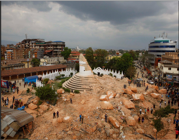 Nepal destruction_1a