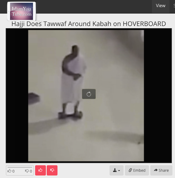 Hajji on Hoverboard2