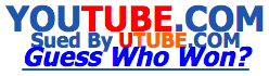 YouTube sued by UTube2