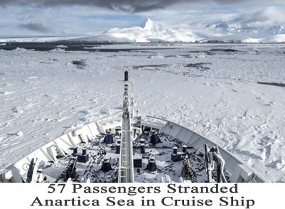 anartica sea stranded