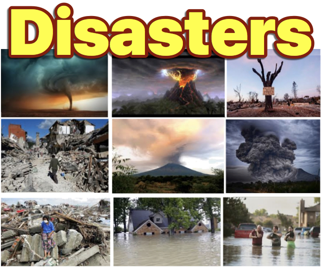 Disasters news