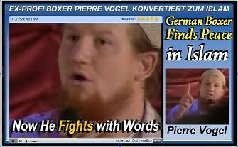 German Boxer Fights for Islam